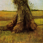 Sheaves of Wheat, Vincent van Gogh