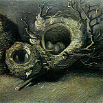 Vincent van Gogh - Still Life with Three Birds Nests