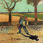 The Painter on His Way to Work, Vincent van Gogh