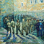Prisoners Exercising , Vincent van Gogh