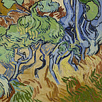 Roots and Tree Trunks, Vincent van Gogh