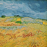 Landscape at Auvers, Vincent van Gogh