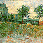 The Restaurant de la Sirene at Asnieres, Vincent van Gogh