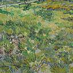 Vincent van Gogh - Long Grass with Butterflies