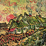 Cottages - Reminiscence of the North, Vincent van Gogh