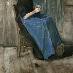 Vincent van Gogh - Scheveningen Woman Sewing