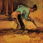Man Stooping with Spade, Vincent van Gogh