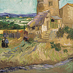 The Old Mill, Vincent van Gogh