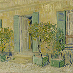 Exterior of a Restaurant at Asnieres, Vincent van Gogh