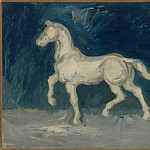 Plaster Statuette of a Horse