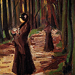 Two Women in the Woods, Vincent van Gogh