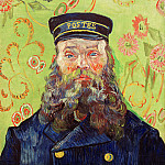 Vincent van Gogh - Portrait of the Postman Joseph Roulin