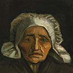 Vincent van Gogh - Head of an Old Peasant Woman with White Cap