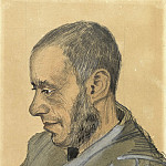 Vincent van Gogh - Portrait of Jozef Blok