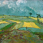 Vincent van Gogh - Wheat Fields at Auvers Under Clouded Sky
