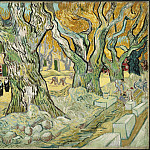 Large Plane Trees , Vincent van Gogh