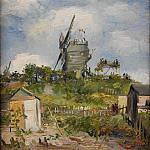 Le Moulin de la Gallette, Vincent van Gogh