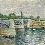 The Seine with the Pont de la Grande Jette, Vincent van Gogh