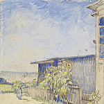 Shed with Sunflowers, Vincent van Gogh