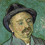 Portrait of a One-Eyed Man, Vincent van Gogh