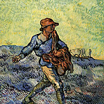 Vincent van Gogh - The Sower (after Millet)