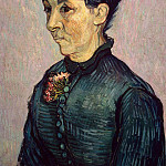 Portrait of Madame Trabuc, Vincent van Gogh