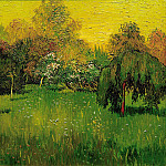Vincent van Gogh - The Poet´s Garden I