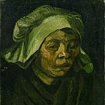 Head of a Woman, Vincent van Gogh