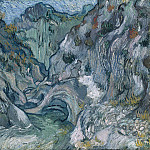A Path through a Ravine, Vincent van Gogh