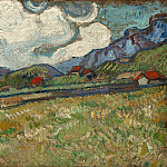 Vincent van Gogh - Wheat Field Behind Saint-Paul Hospital