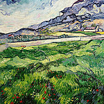 Green Wheat Field, Vincent van Gogh