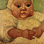 The Baby Marcelle Roulin, Vincent van Gogh