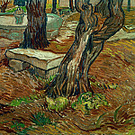 The Stone Bench in the Garden of Saint-Paul Hospital, Vincent van Gogh