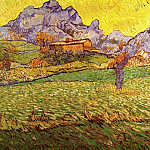A Meadow in the Mountains: Le Mas de Saint-Paul, Vincent van Gogh