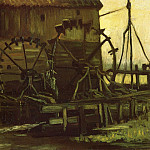 Water Mill at Gennep, Vincent van Gogh