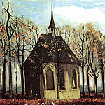 Chapel at Nuenen, Vincent van Gogh