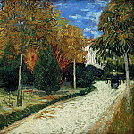 The Public Park at Arles, Vincent van Gogh