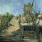 Windmill on Montmartre, Vincent van Gogh