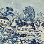 Landscape with Cottages, Vincent van Gogh