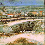 Outskirts of Paris near Montmartre, Vincent van Gogh