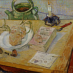 Vincent van Gogh - Drawing Board, Pipe, Onions