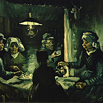 The potato eaters, Vincent van Gogh