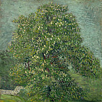 Chestnut Tree in Blossom