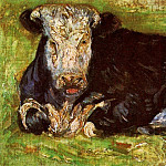 Lying Cow, Vincent van Gogh