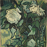 Roses and Beetle, Vincent van Gogh