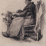 Woman Winding Yarn, Vincent van Gogh