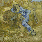Vincent van Gogh - The Sheaf-Binder (after Millet)