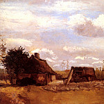Cottage, Vincent van Gogh