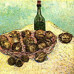 Bottle, Lemons and Oranges, Vincent van Gogh