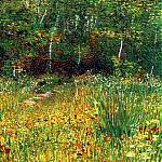 Park at Asnieres in Spring, Vincent van Gogh